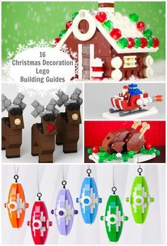 Decorating for Christmas can be done DIY if you want to make it a LEGO Christmas. Here's a building guide for tree ornaments and decorations.