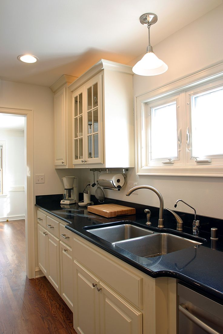 The homeowners loved the look of granite