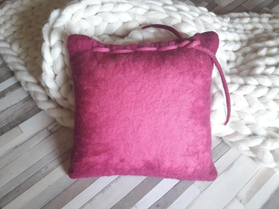 #decorativepillow  #homedecor  https://www.etsy.com/listing/270072551/pink-felt-pillow-decorative-pillow-couch