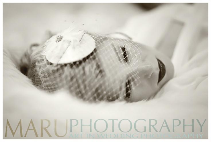 Such beautiful shots of beautiful Karen By Maru photography.  Custom made Blusher with shiverz Curled Diamond Dome Daizy