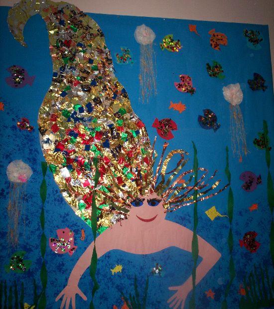 Mermaid classroom display photo - Photo gallery - SparkleBox