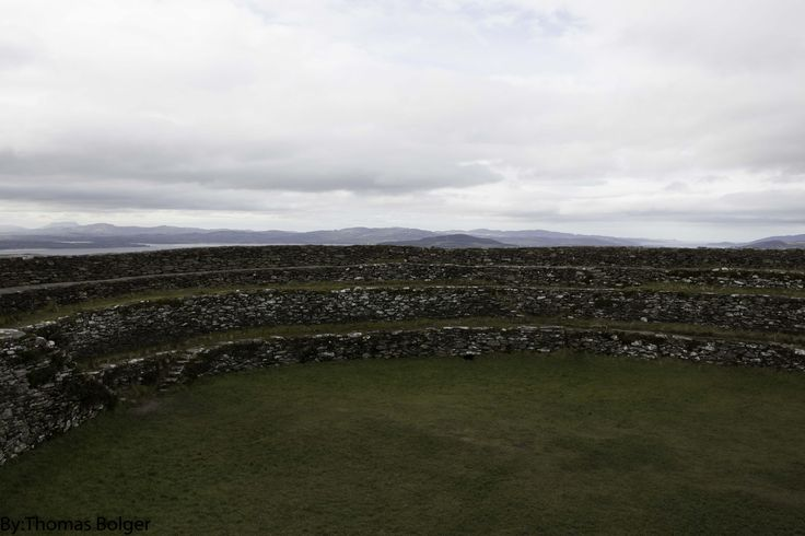 view from within the Grianan of Aileach