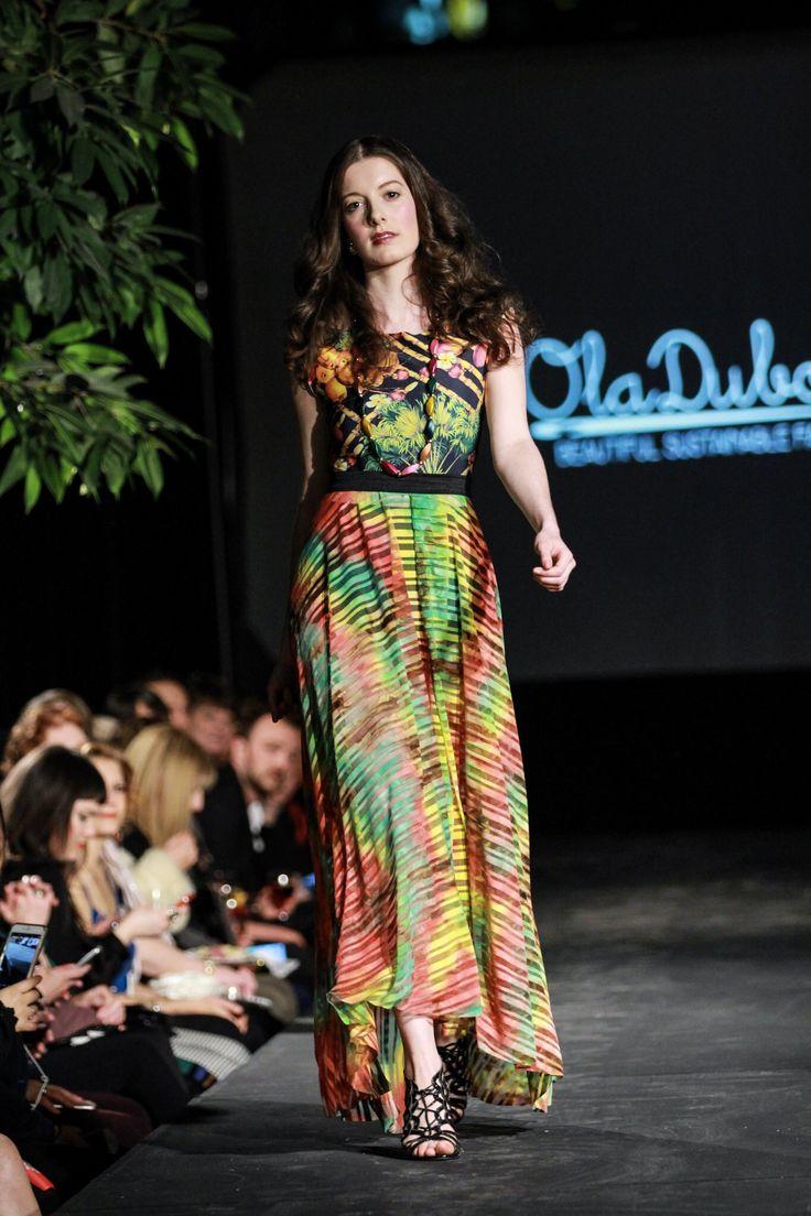 Ola Dubois at Victoria Fashion Week SS17 - Style by Fire. SHOP: https://oladubois.ca/