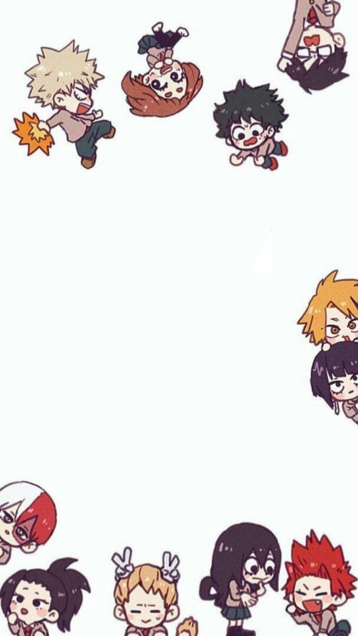 Find images and videos about anime, wallpaper and chibi on We Heart It - the app to get lost in what you love. Naruto Wallpaper, Hero Wallpaper, Cute Anime Wallpaper, Iphone Wallpaper, Chibi Wallpaper, Beautiful Wallpaper, Perfect Wallpaper, Anime Chibi, Kawaii Anime