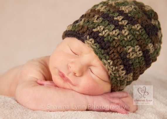 Hey, I found this really awesome Etsy listing at https://www.etsy.com/listing/121890416/crocheted-baby-boy-hat-baby-boy-camo-hat