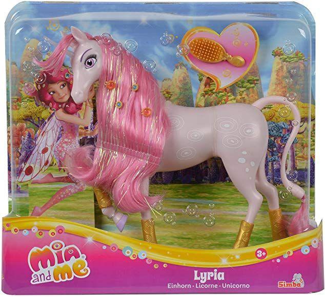 Amazon Com Simba Mia And Me Lyria Unicorn Clothing Prinzessin Spielzeug Barbie Spielfiguren