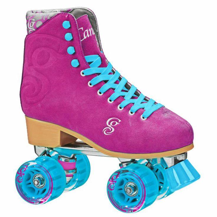 New Candi Girl Carlin Raspberry Roller Skates Girls Ladies Size 3-11…