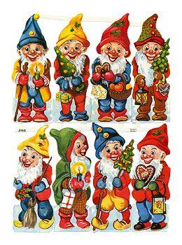 ♥ Merry Christmas Gnomes ♥