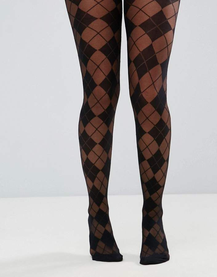 1f07aa7f4 DESIGN Argyle Tights