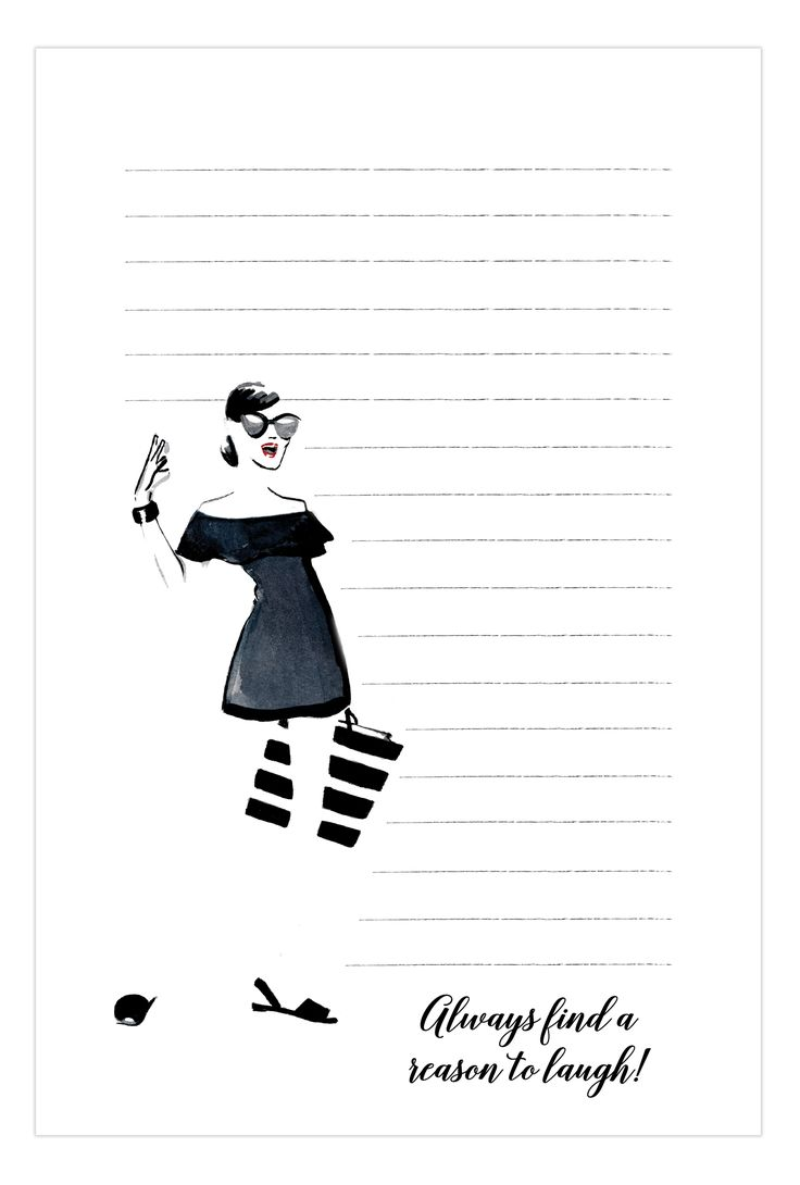 A Reason to Laugh Notepad