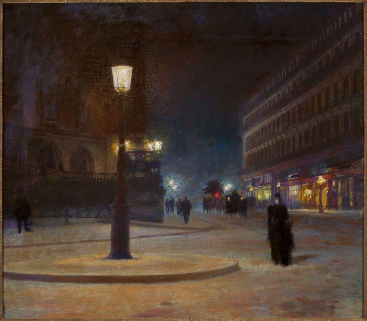 Ludwik de Laveaux - Place de l'Opera, ca. 1893