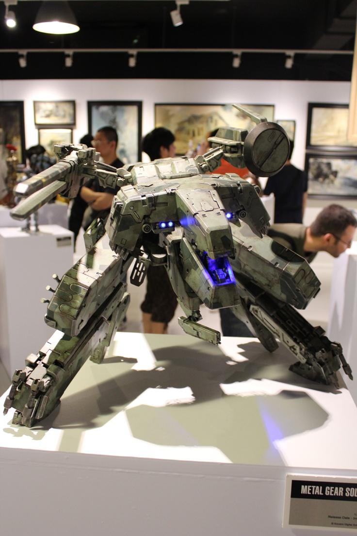 Metal Gear Rex Action figure! AMAZING