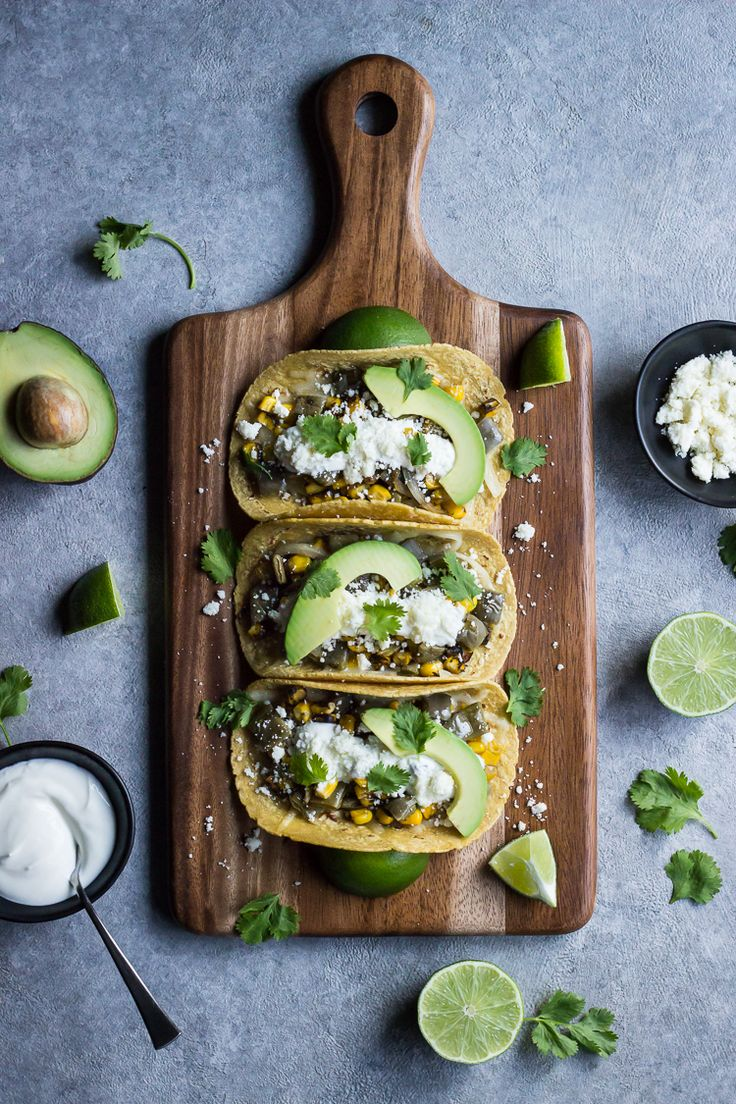 Nopales + Roasted Corn Tacos