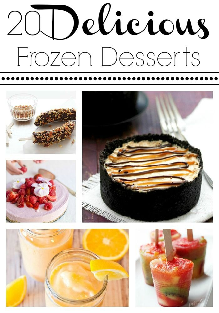 18 delicious Frozen Desserts for summer time | I Heart Nap Time - How to Crafts, Tutorials, DIY, Homemaker