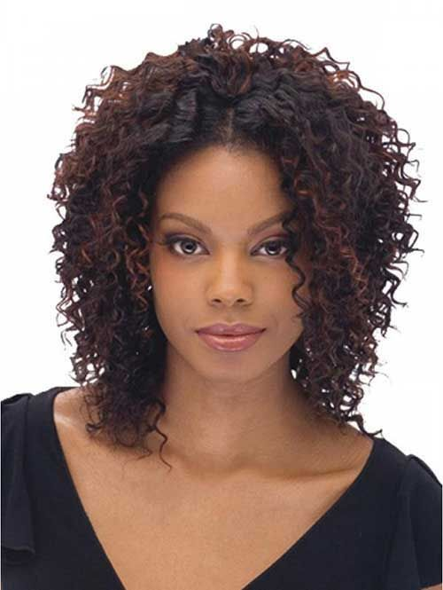 medium curly haircuts for best 25 curly weaves ideas on curly 4523