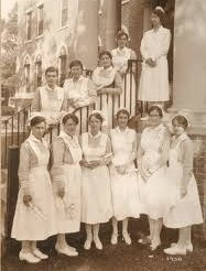 1930's nurses...wonder if they did kegs and eggs for last day of classes?