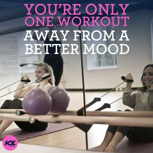One workout away from a better mood.  #endorphins #pumpit #barre #kxbarre #barreworkout #raisethebare #barreclasses #moodlifting #positive #fitspo