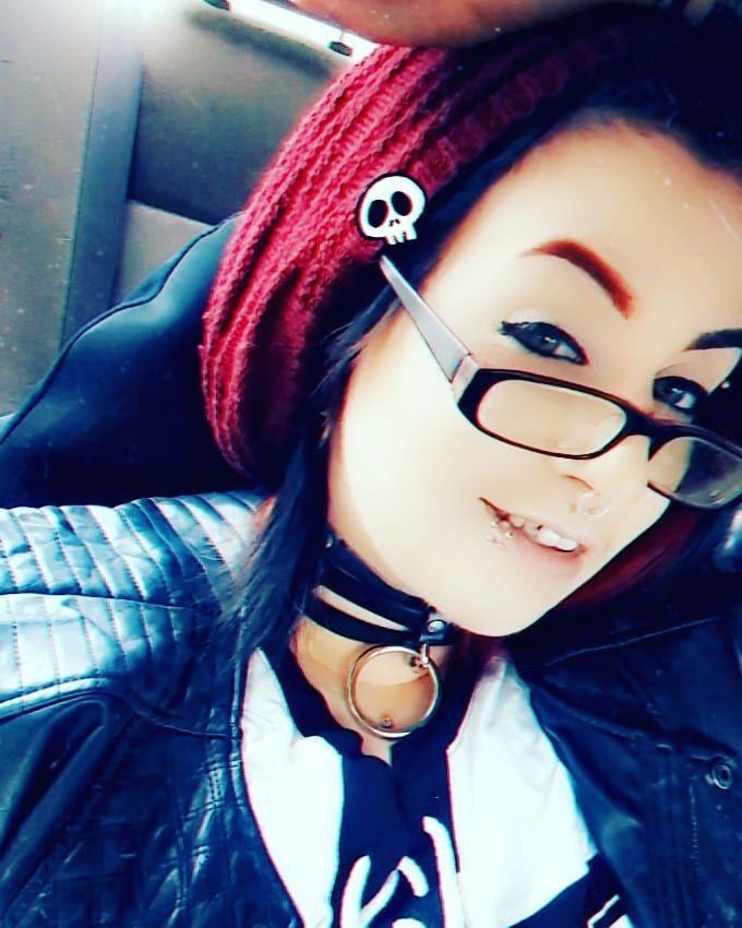 Its Official I Am Baby Maxxy Mamadragom Tiktok Beanie Snapchatfilter Snapchat Altgirl Alternativegirl Alternative Girlswithpiercings Girlswithta