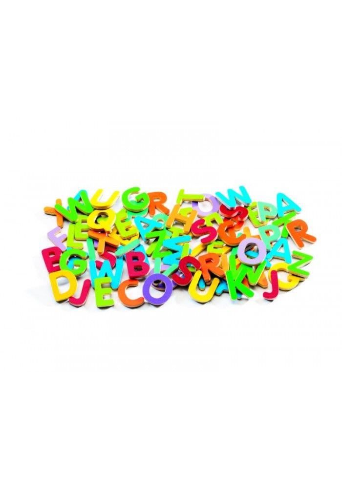 Djeco Magnetische letters: effen drukletters € 14,95