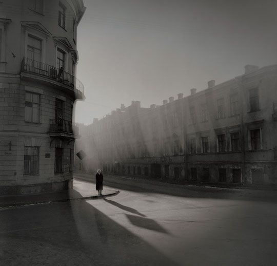"""Titarenko is a master of photographic technique, not only with his camera but also in the darkroom, where he produces exquisite prints, some delicately toned, all different…his art, like that of Shostakovich, Dostoevsky and Solzhenitsyn, is bound up with the suffering of the Russian people"""" WM"""