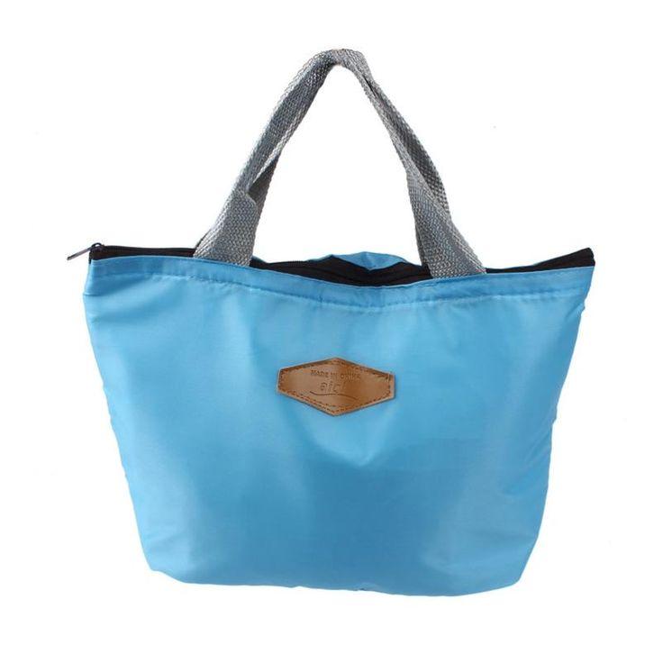 Mejor regalo hcandice al por mayor portátil a prueba de agua caja de almacenamiento de alimentos de picnic aislado bolsa de almuerzo de asas jan19