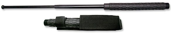 26 inch Solid Steel Expandable Baton with Sheath