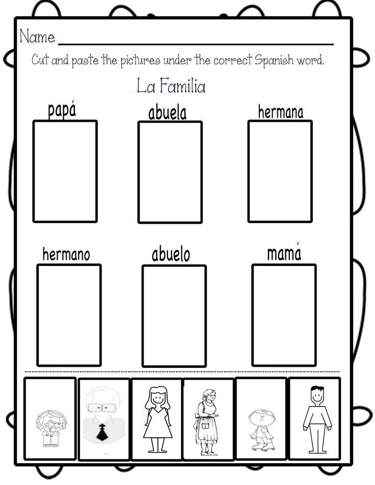 Blog post including two freebies!  Simple Spanish Words to Learn