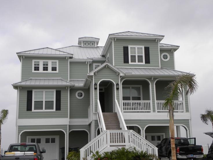 35 best Texas Beach Houses images on Pinterest   Beach front homes Dream Beach Houses Design P E A on