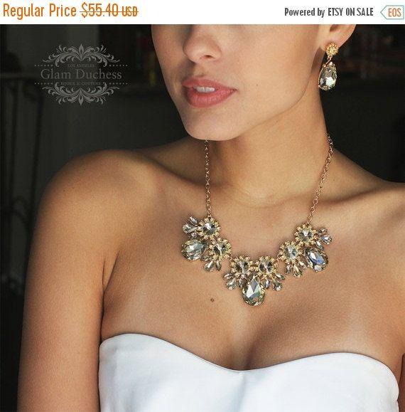 Wedding jewelry set bridal jewelry set Bridal by GlamDuchess