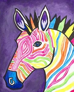 Social Artworking: Electric Zebra