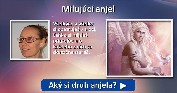 Aký si druh anjela?