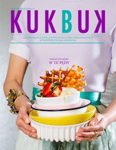 Kukbuk cover, photo: dinnershow studio