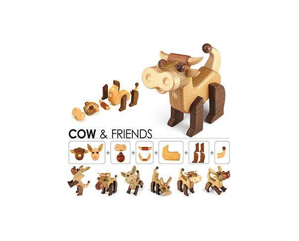 Zažijte spoustu zábavy s dřevěnými hračkami. Akční nabídka vyprší: 2.7.2013