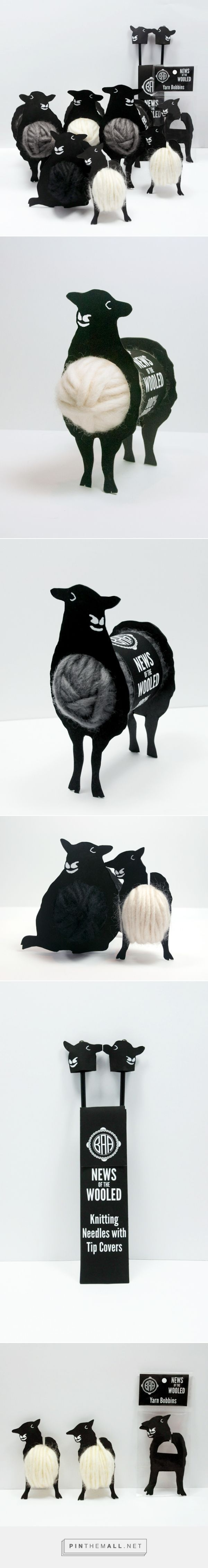 Designer: Gwyn M. Lewis Project Type: Self Promotion Location: San Francisco Bay Area, United States Packaging Contents: Wool, knitting...