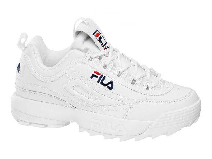 Fila – Sneaker Disruptor Low – 00014201479839 – weiß | FILA GERMANY