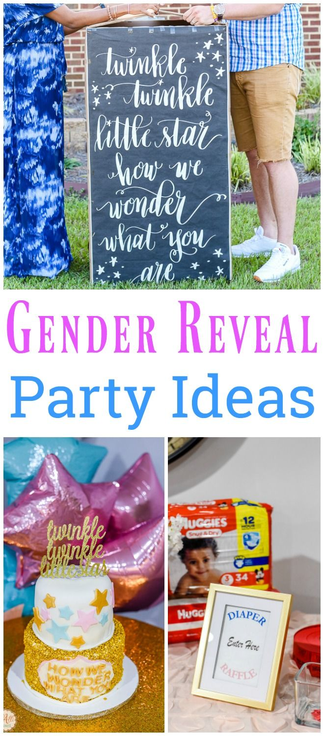 Are you planning a gender reveal party? Check out these ideas, including cake toppers, games and sources.