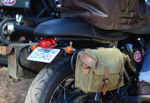 7ca1f24331 Vintage French Military Messenger Bags with Mounting Brackets and Hardware  for the Triumph Bonneville, SE, T100, Thruxton an… | Motocycles &Bike I  Like ...