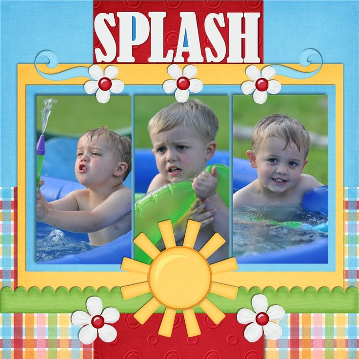 The Pool - Scrapbook.com