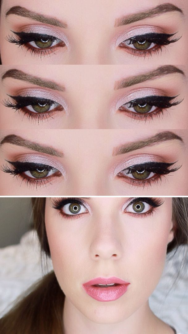 These tutorials by Sarah Nicole are so good! I love this bright, fresh go-to makeup look. Click through the image to check out all her tutorials!  Great tips