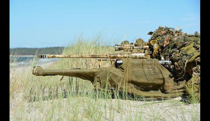 Snajperzy Błękitnej Brygady na ćwiczeniach   Defence24