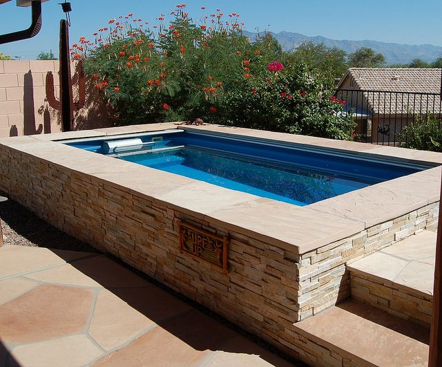9 best garden swimming pools images on pinterest endless for Pop up garten pool
