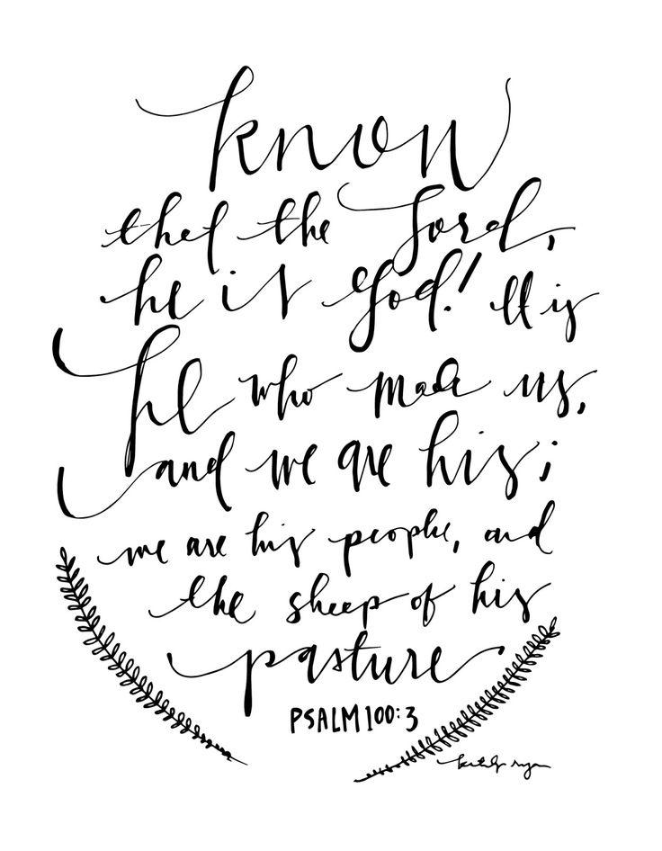 1000 Ideas About Psalm 100 On Pinterest Psalms The