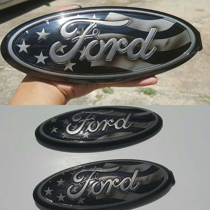 """Another set of 9"""" custom painted ford oval emblems for Jason @mccalvinj1 to his son. Thanks buddy... - madmic_custom_paint"""