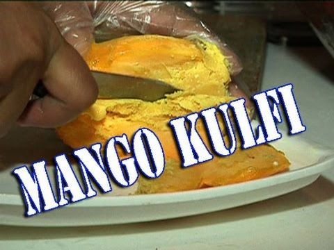 Mango Kulfi- Best Indian Ice Cream