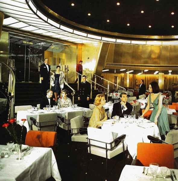 Oceanic Second Class Dining Room