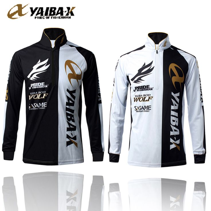 Immortal wolf YAIBA-X fishing suit ventilation long sleeved outdoor sense quick dry anti UV sunscreen clothing from