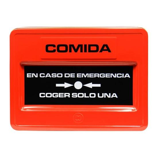 Caja para Comida de Emergencia / Emergency Food Box · Tienda de Decoración y Regalos originales UniversOriginal