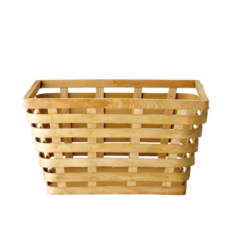 17 meilleures id es propos de tag res de panier de linge sur pinterest s - Panier a bois design ...