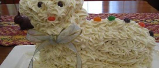 Easter Lamb Cake / Torta di Agnello