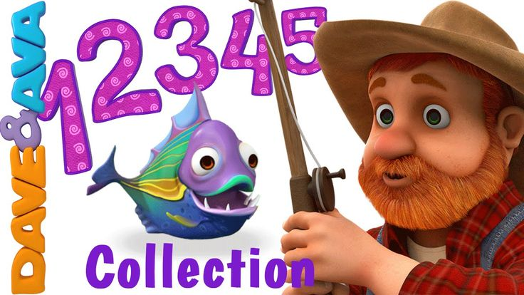 12345 Once I Caught a Fish Alive Song Collection from Dave and Ava (27 minutes)